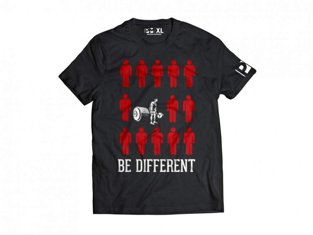 PM-be-different-t-shirt-front