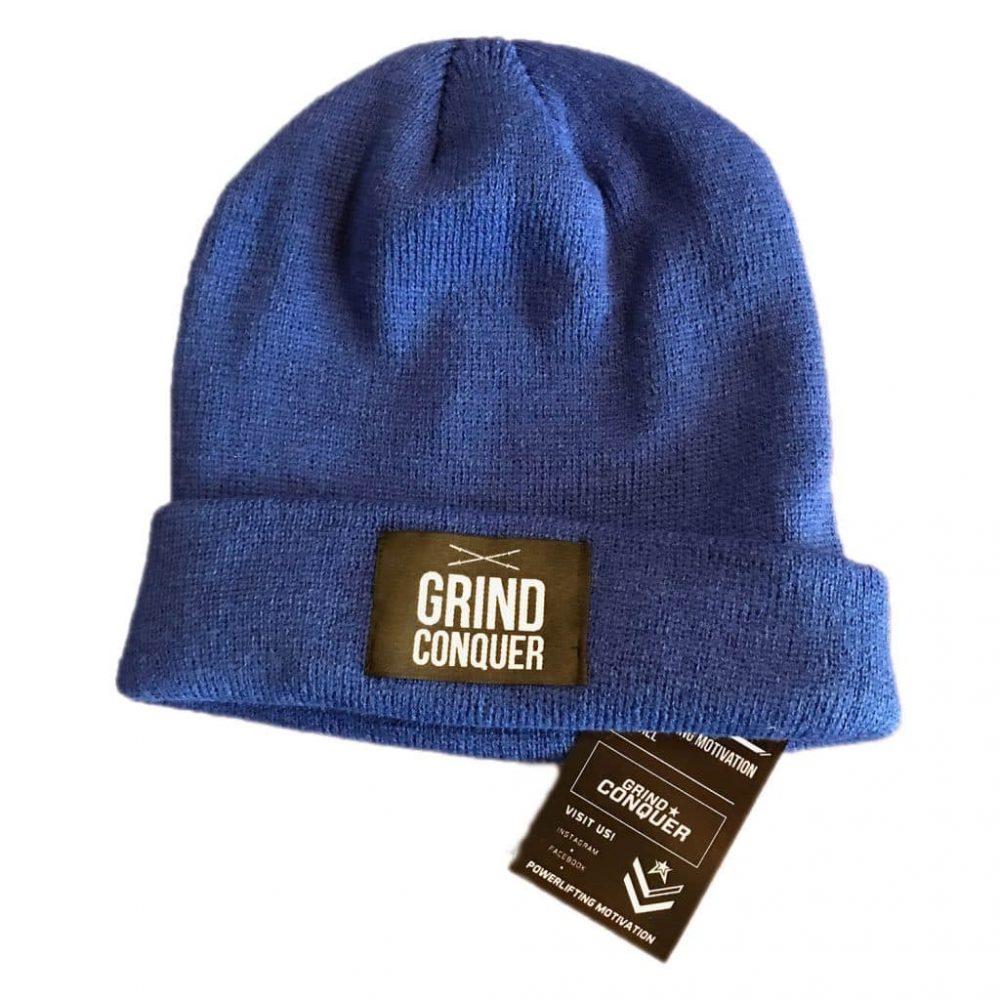 PM Beanie – very blue