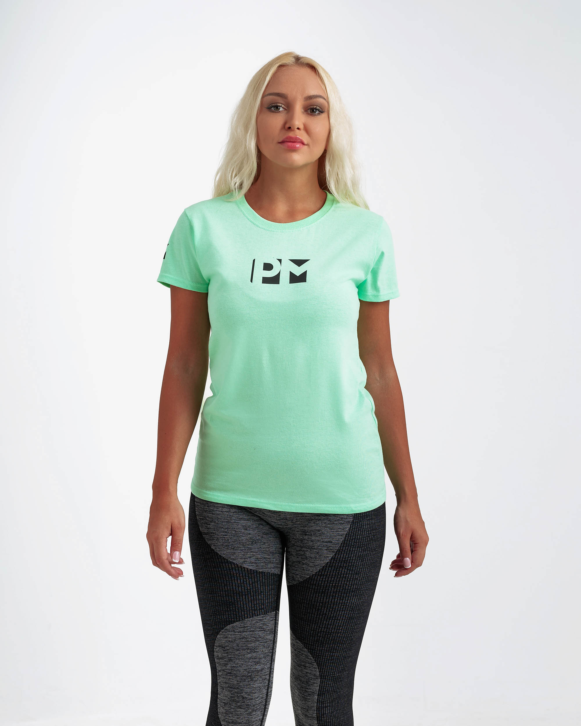 CLASSIC GRIND TO CONQUER TEE MINT GREEN