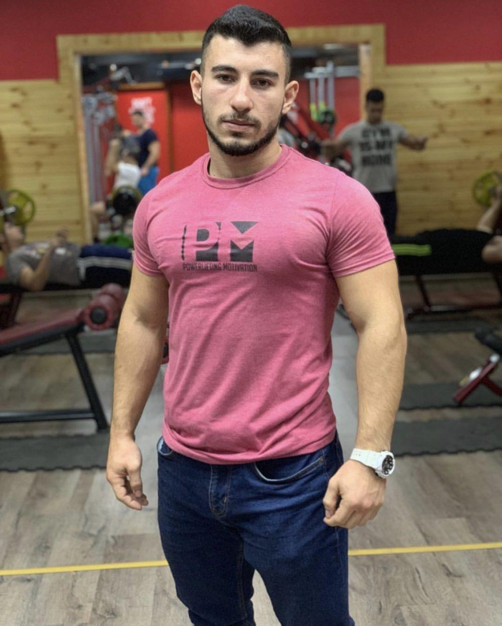 PM pink me t-shirt