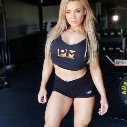 blk female Stephanie Sanzo front 2019 POWERLIFTINGMOTIVATION