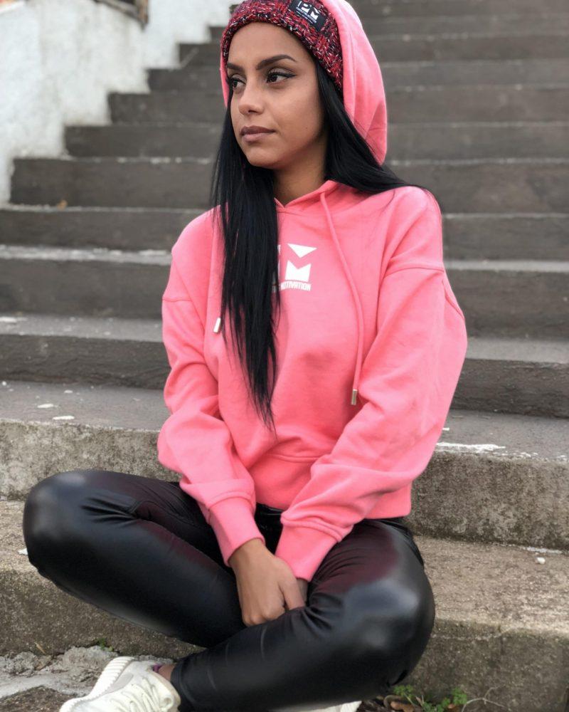 Crop Hoodie - Pink PM GC