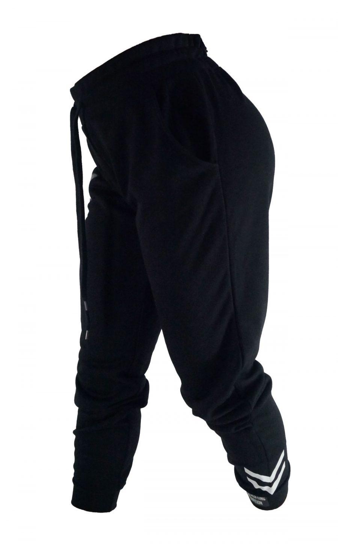 PM women's jogger pants / sweatpants black