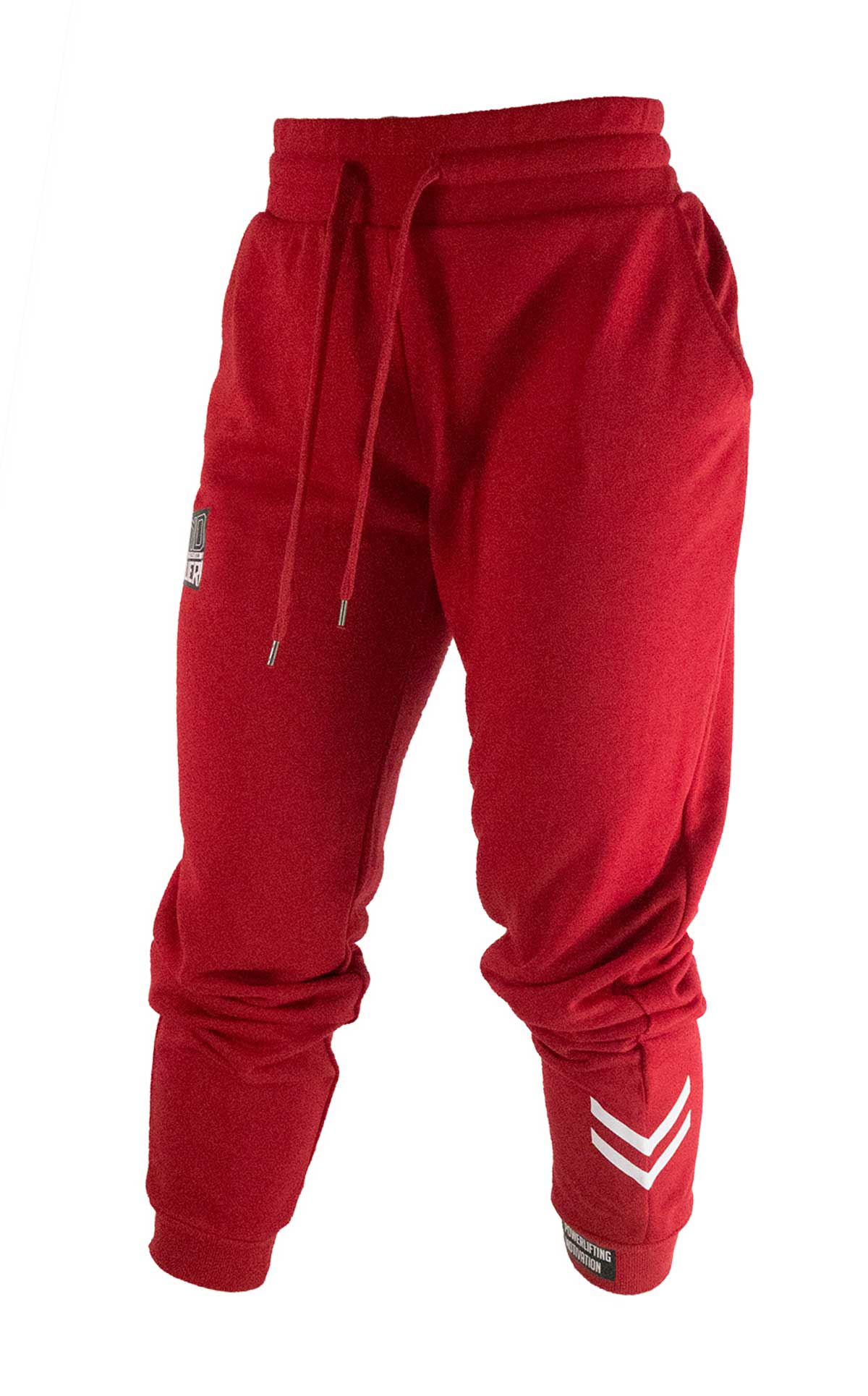 PM women's jogger pants red