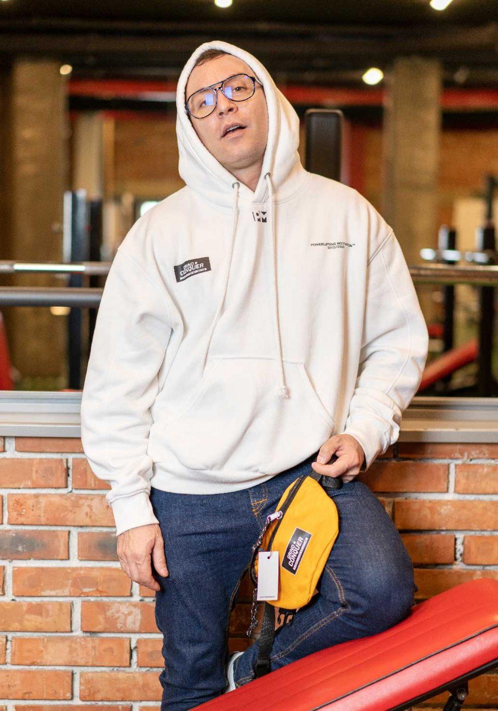yellow cross body bag PM fanny pack