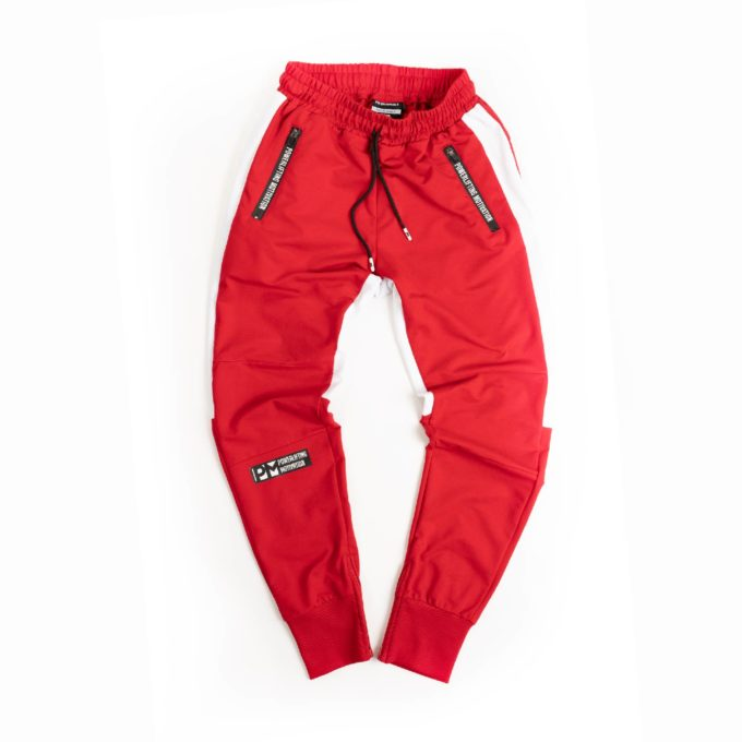 red paws pants