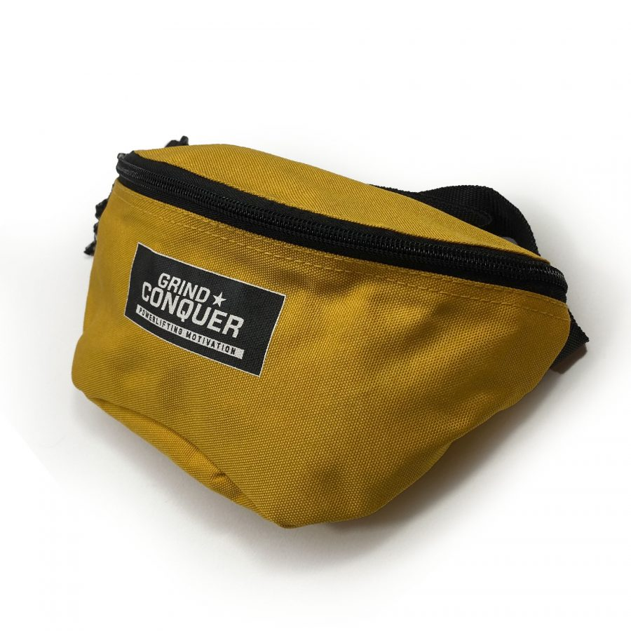 Yellow PM fanny pack