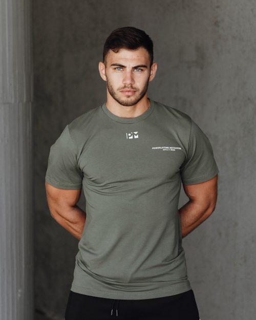 2020 PM T-shirt Hunter Green