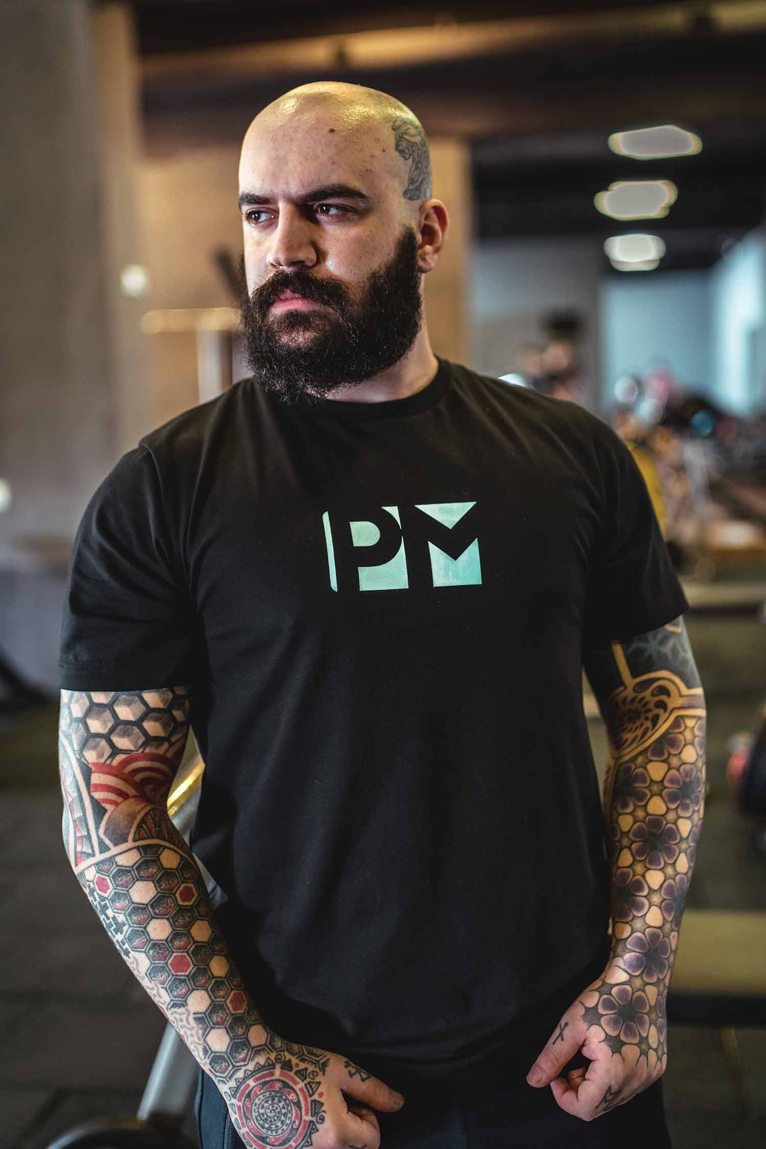 PM classic northern lights t-shirt