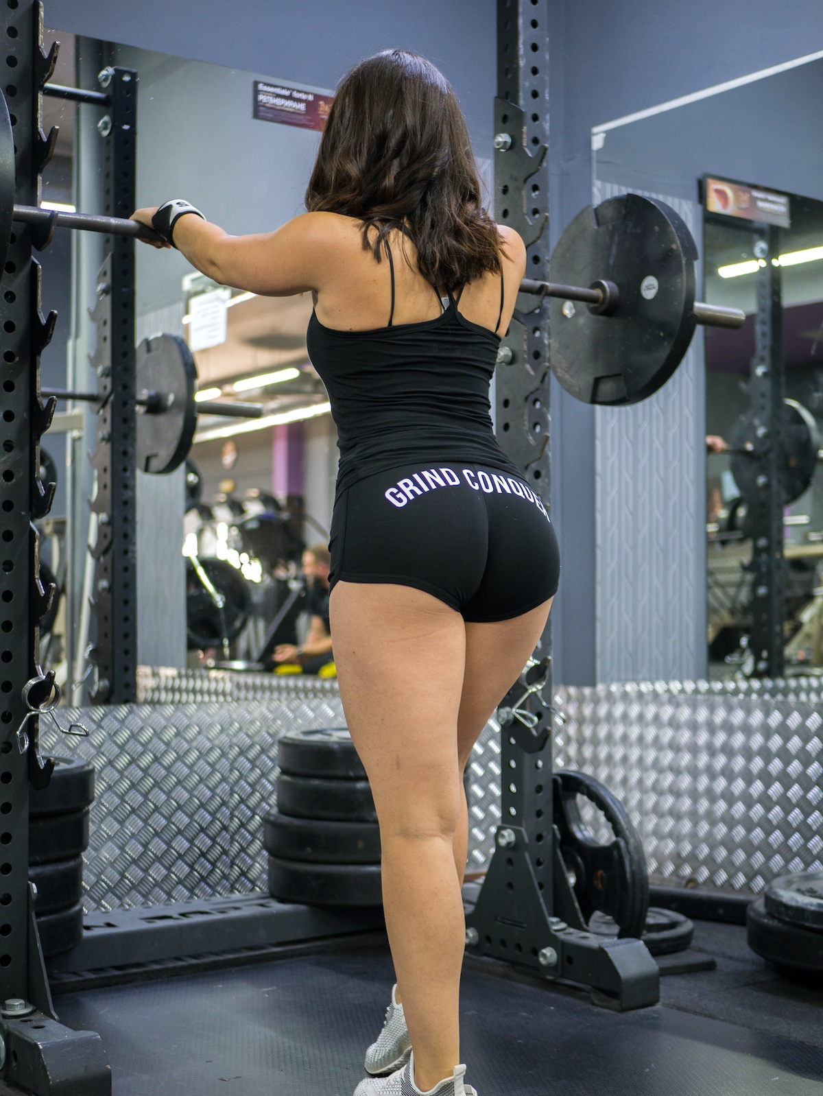 grind conquer shorts