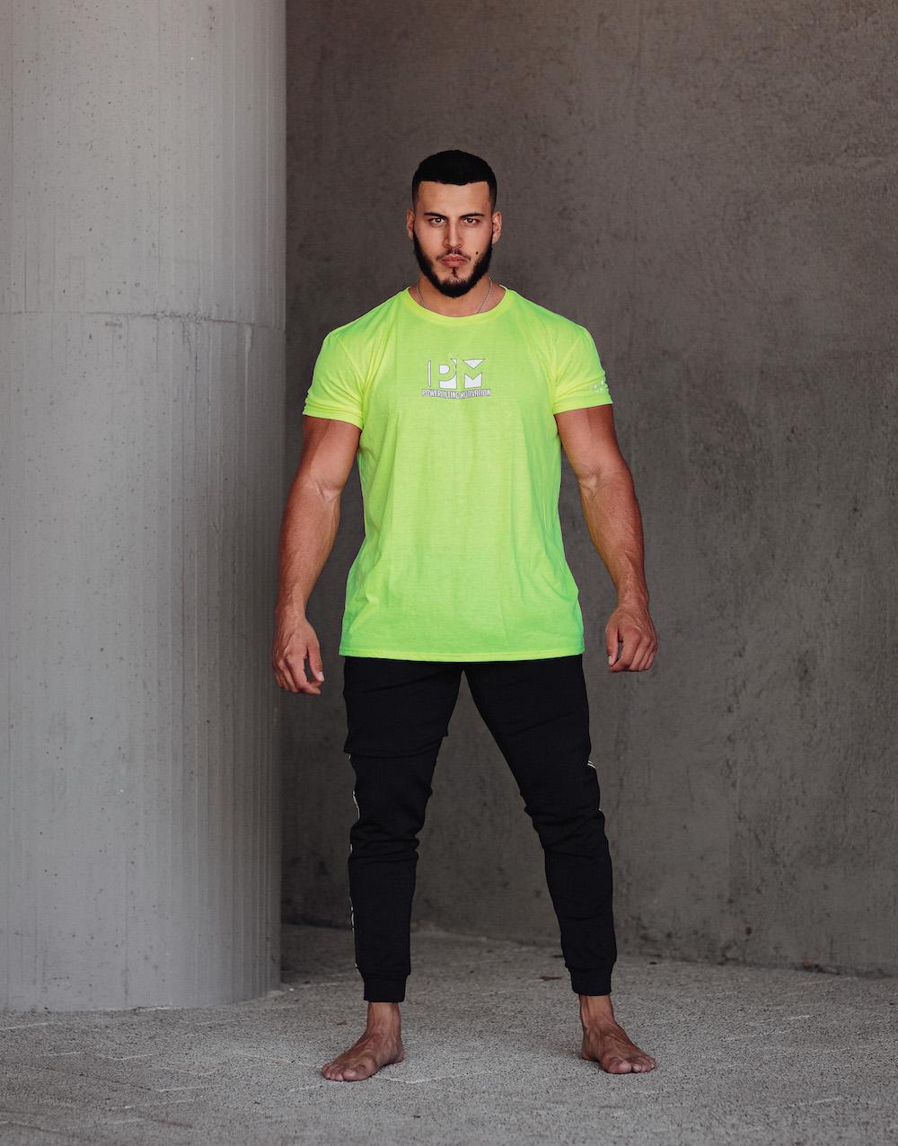 PM neon green