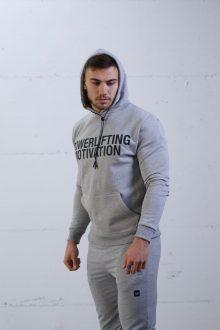 PM rhino grey lockdown popover hoodie