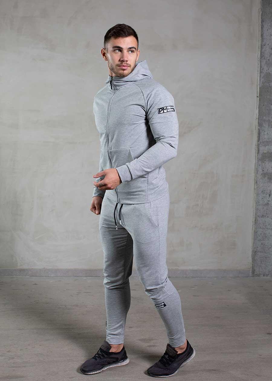 PM essential track suit grey