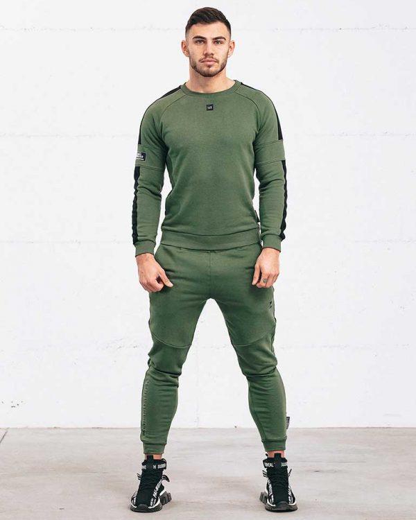Adapt Army Green Sweatshirt
