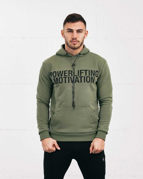 hunter green popover hoodie