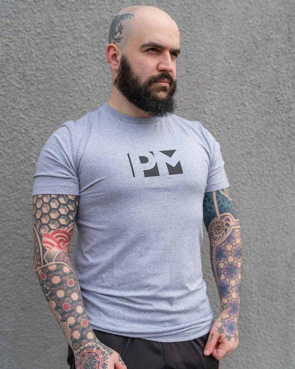 PM Grey Classic Tshirt