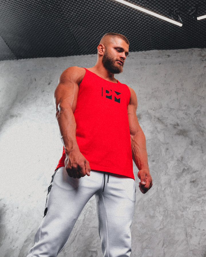 Classic PM Red tank top 2021