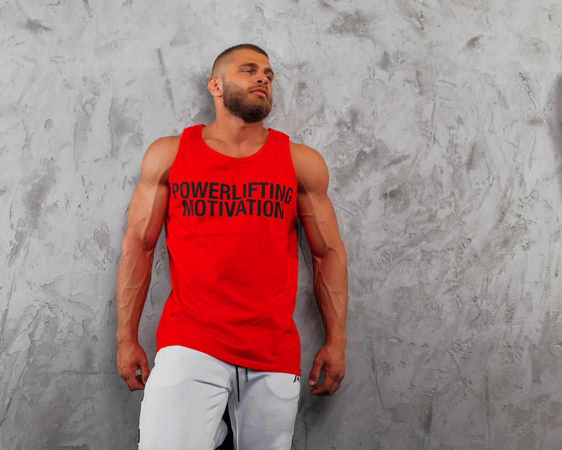 PM Powerlifting Motivation Red 4
