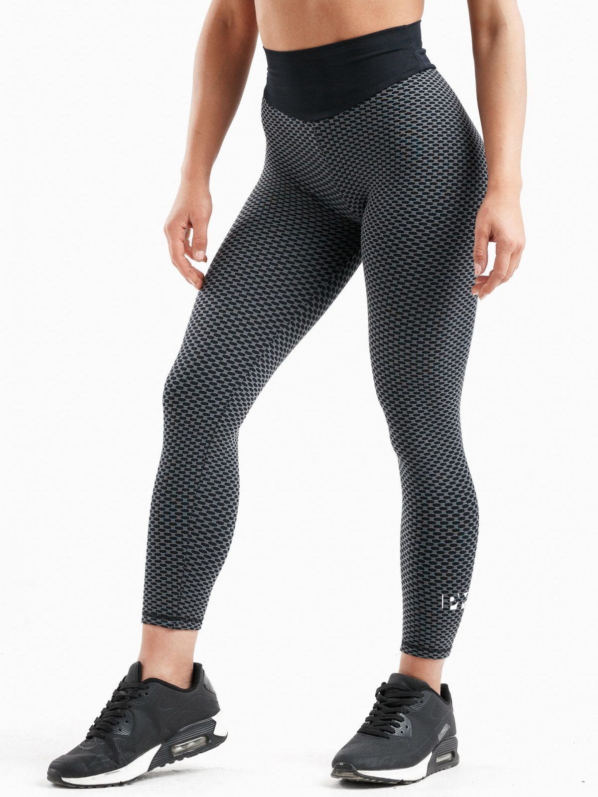 black PM Women's Butt Lift High Waist Leggings