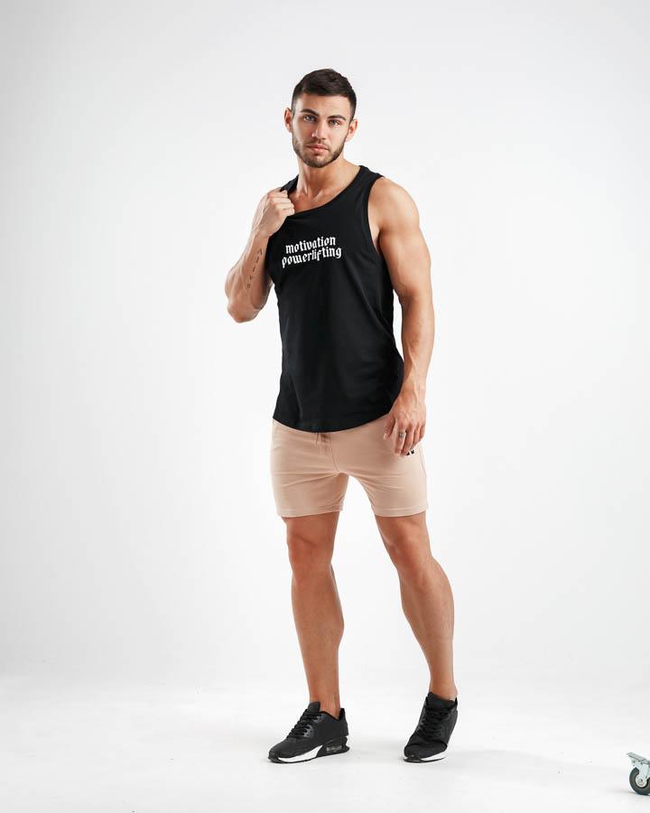 ADAPT DRY FLEECE Beige Shorts