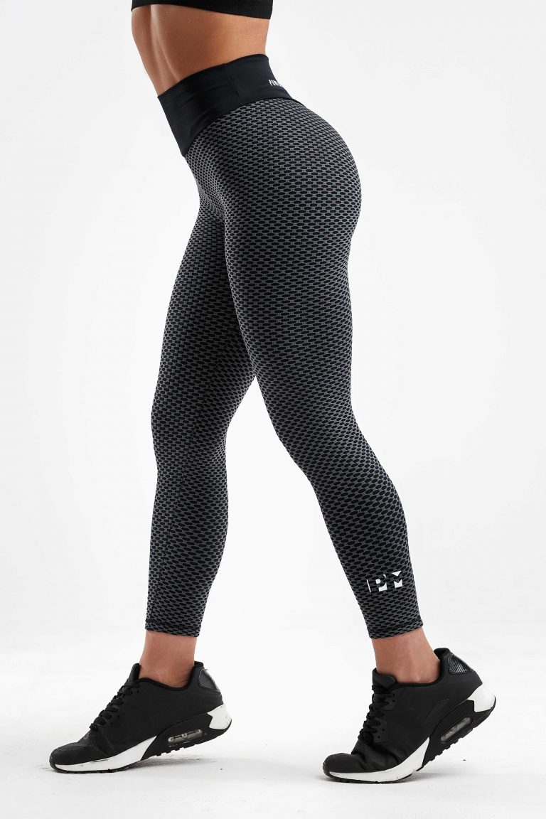 butt lifting leggings blk