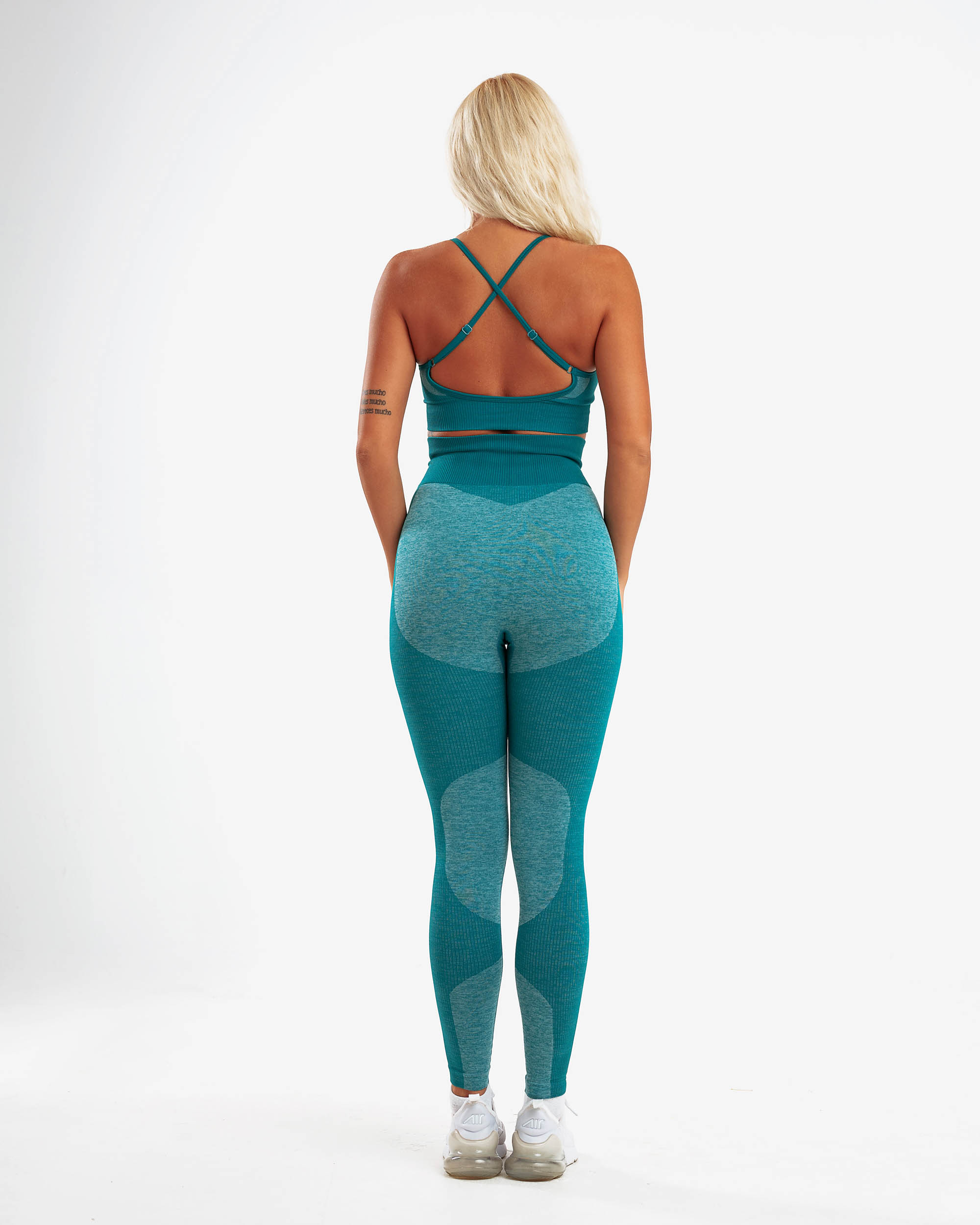 PM STRETCHY SEAMLESS SET GREEN